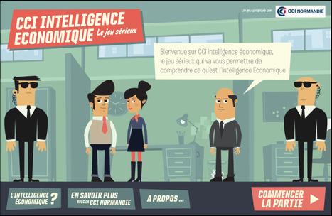 CCI Intelligence Economique - Le jeu sérieux | Veille, outils et ressources numériques | Scoop.it