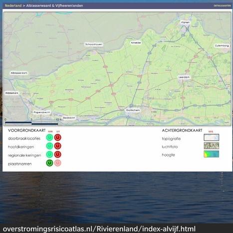 KNAG - Overstromingsrisicoatlas | Aardrijkskunde | Scoop.it