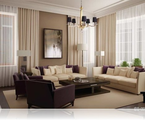 Modern Living Room Curtains | Simple Home Design Ideas | Scoop.it