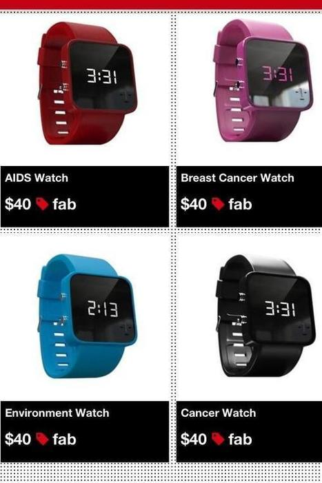 Twitter / TFCBakery: LED Watches For Positive Change. ...   Intoday Electronics   Scoop.it
