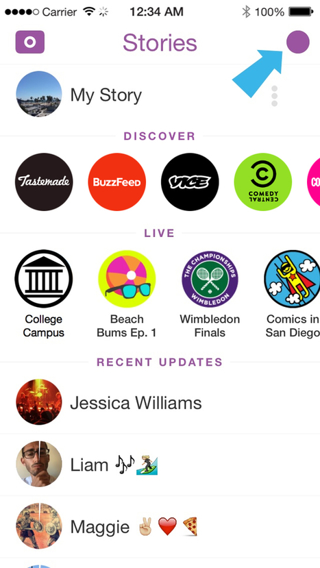 What Snapchat is and how to use it for journalism | Andy Bull | Social SEO for Travel & Tourism | Scoop.it