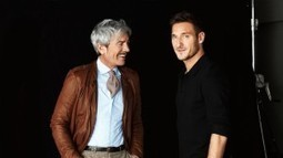 Francesco Totti Testimonial for Cesare Paciotti | Le Marche & Fashion | Scoop.it