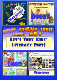 The Book Chook: Let's Vary Kids' Reading and Writing Diet | Supporting Children's Literacy | Scoop.it