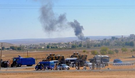 Islamic State moves in on key Syria-Turkey border town | News From Stirring Trouble Internationally | Scoop.it