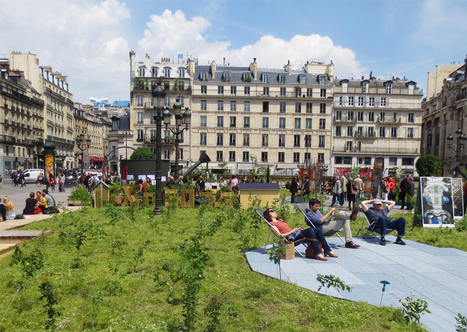 New landscapes of the city... Of Paris! | on art and design | Scoop.it