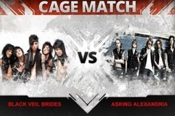 Black Veil Brides vs. Asking Alexandria - Cage Match - Loudwire | Asking Alexandria (music) | Scoop.it