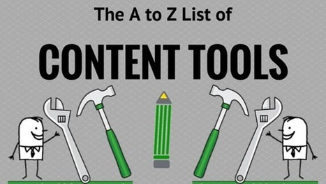 The A – Z List of Content Tools You'll Want to Use | Content Marketing & Content Strategy | Scoop.it