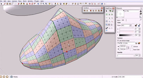 QuadFace Tools for Sketchup | Updates on 3D modeling world | Scoop.it