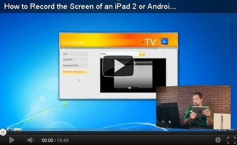 How to Record Screencasts on your iPad or iPhone | Education Technology - theory & practice | Scoop.it