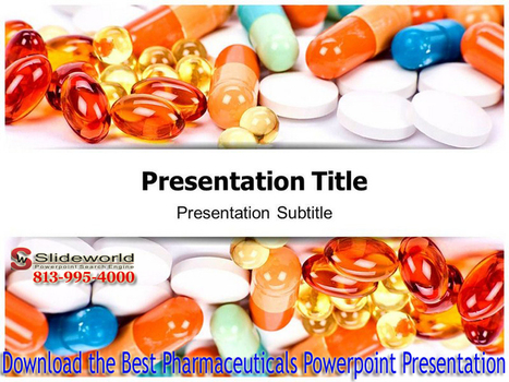 Download the Best Pharmaceuticals Powerpoint Templates | Personality Development PPT | Scoop.it