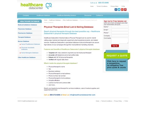 Physical Therapists Email List from Healthcare Datacenter | Healthcare Datacenter | Scoop.it