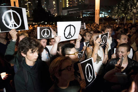 "How The ""Peace For Paris"" Sign Spread Around The World: The Backstory 