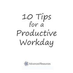 10 Tips For A Productive Workday | Advanced Resources | Workplace | Scoop.it