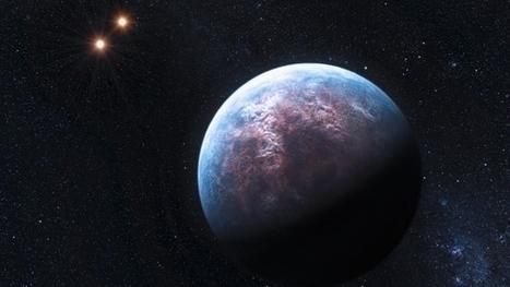 Une exoplanète bleue comme la Terre | CAP21 | Scoop.it