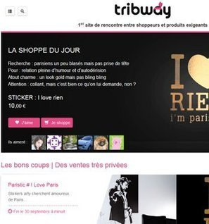 Tribway : E-Commerce Award Social commerce | Les infos d'e+k | Scoop.it