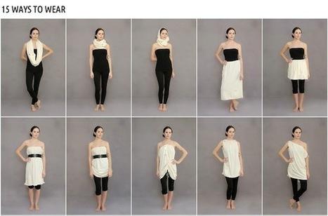 revolution apparel: One Garment, 15 Ways, 100% Recycled - Culture-ist | Ecofashion | Scoop.it