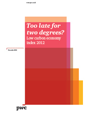 PwC Low Carbon Economy Index 2012 | Great Buzzness | Scoop.it