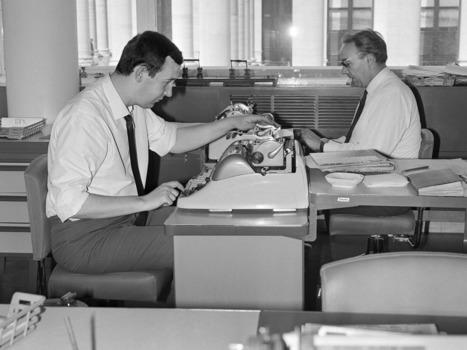 The Times' newsroom set to ring with the sounds of typewriters once more | radio&sound&journalism | Scoop.it