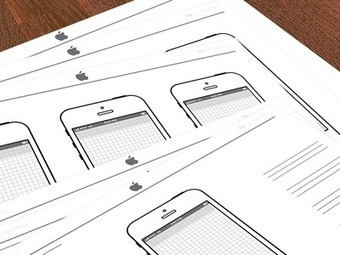 Dribbble - iPhone Sketch Template by D. Moore | Tips&Tricks | Scoop.it
