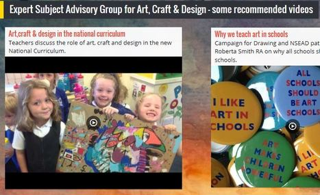 Expert Subject Advisory Group for Art, Craft & Design - some recommended videos | art and art education | Scoop.it