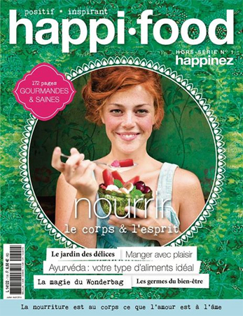 "THEODOR partenaire du hors-série Happinez ""Happi food"" 