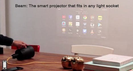 The Beam: an easy to use smart projector | Stock News Desk | Scoop.it