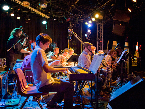 The People's Liberation Big Band celebrates five years of wild jazz at RecordBar   The Pitch   OffStage   Scoop.it