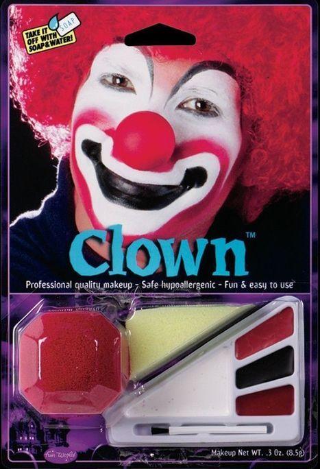 Набор для мейкапа Клоун   Карнавальный костюм для детей и взрослых!   Scoop.it