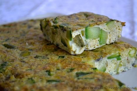 Frittata di asparagi e zucchine Bimby | Ricette Bimby | Scoop.it