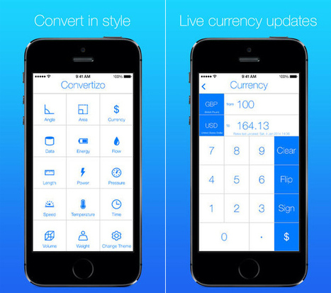 Download this app immediately: Convertizo 2 for iPhone is now free | iPhone Application Developer | Scoop.it