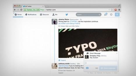 Twitter introduit les notifications web - Be Geek | Internet, Veille, Stratégie | Scoop.it