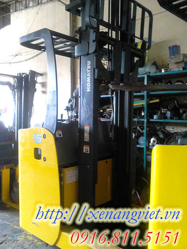Xe nâng Komatsu 1.5 tấn | Xe Nâng Qua Sử Dụng | Scoop.it