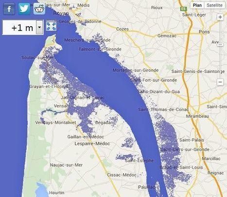 La montée des eaux pourrait submerger une partie du littoral français, selon la Nasa - Sud-Ouest | Mediapeps | Scoop.it