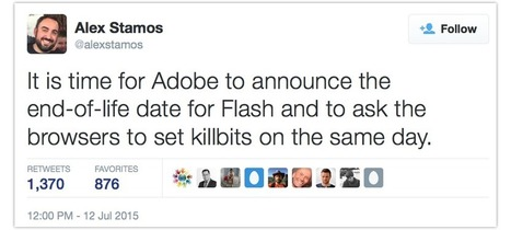 """Facebook's new CSO comes out swinging: """"Death to Flash!"""" [POLL] 