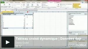 Tutoriel Tableau croisé dynamique | Données depuis Access | Cours Informatique | Scoop.it