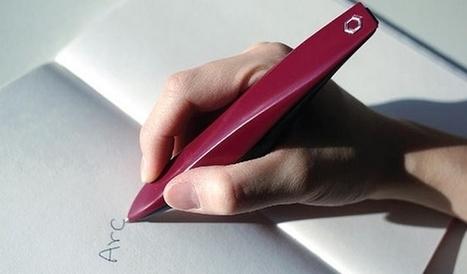 Un stylo vibrant qui permet une écriture lisible pour les personnes atteintes de Parkinson | CRAKKS | Scoop.it