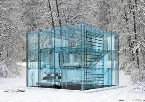 Case di Vetro: le foto di una magia del design | Architettura, design, arredamento: le case più belle - LIVING INSIDE | Scoop.it