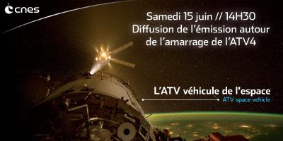 Diffusion de l'émission autour de l'amarrage de l'ATV-4 le 15 juin 2013 dès 15H00 à La Cantine Toulouse | La Cantine Toulouse | Scoop.it