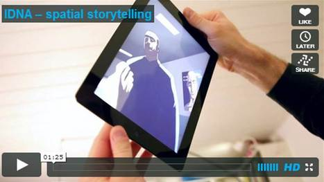 IDNA: 360-Degree Spacial Story Telling iPad App | Digital Buzz Blog | Content Strategy | Scoop.it