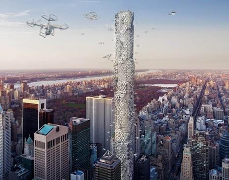 See the 3 winners of the world's most creative skyscraper design competition | Urbanismo, urbano, personas | Scoop.it