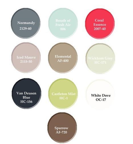 Benjamin Moore's Wall Color Trends 2014 | Paint Colors | Scoop.it