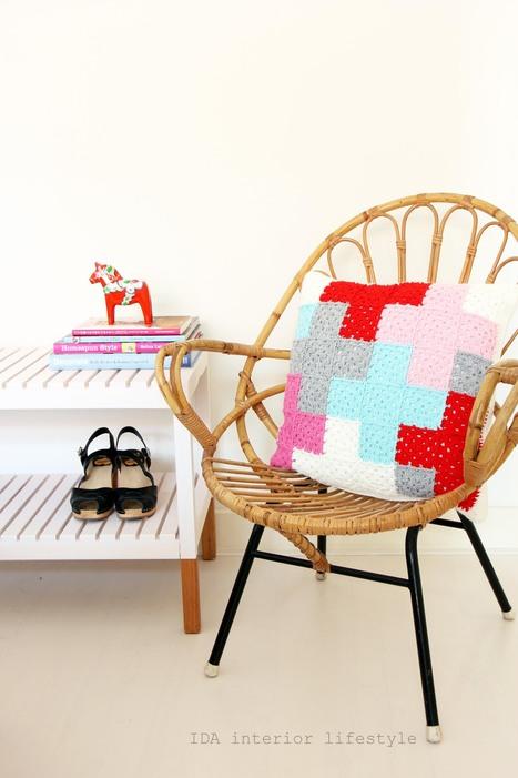 IDA Interior LifeStyle: From my shop: crochet cushion with cross ... | Designer Cushions | Scoop.it