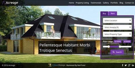 Take Your Real Estate Business Online with CyberChimps WordPress Theme - Acreage | Free & Premium WordPress Themes | Scoop.it