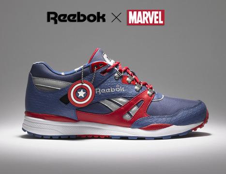 Reebok Marvel Shoes | DailyComics | Scoop.it