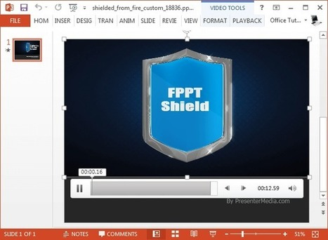 Shielded From Fire Video Animation For PowerPoint | PowerPoint presentations and PPT templates | Scoop.it