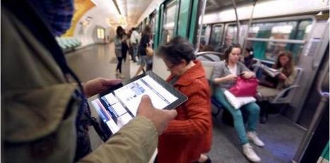 L'Internet ne ramera plus dans le métro ! | Ateliers Jisseo | Scoop.it