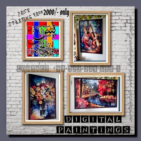 Artistic Edge: Digital Paintings Karachi   Artistic Edge Gallery   Scoop.it