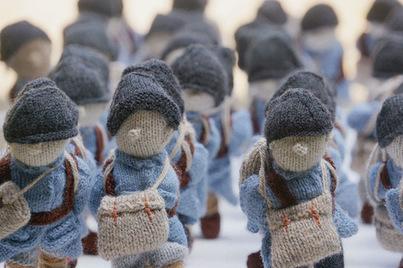 «Wool War One» ou la Grande Guerre racontée en tricot | La-Croix.com | Nos Racines | Scoop.it
