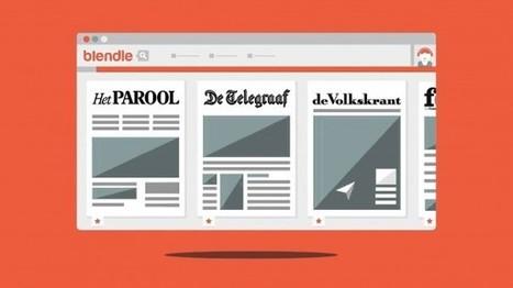Blendle, l'application qui veut révolutionner le modèle économique du journalisme | DocPresseESJ | Scoop.it