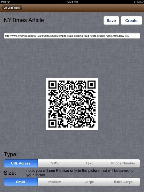 Create Your Own QR Codes | Education | Scoop.it